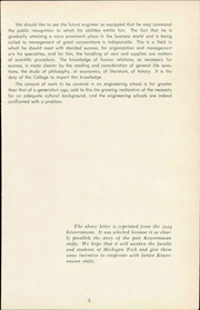 Page 9, 1954 Edition, Michigan Technological University - Keweenawan Yearbook (Houghton, MI) online yearbook collection
