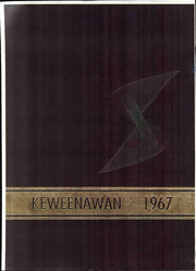 1967 Edition, Michigan Technological University - Keweenawan Yearbook (Houghton, MI)