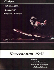 Page 7, 1967 Edition, Michigan Technological University - Keweenawan Yearbook (Houghton, MI) online yearbook collection