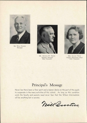 Page 10, 1937 Edition, Woodrow Wilson Intermediate School - Quill Yearbook (Detroit, MI) online yearbook collection