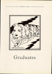 Page 13, 1937 Edition, Woodrow Wilson Intermediate School - Quill Yearbook (Detroit, MI) online yearbook collection