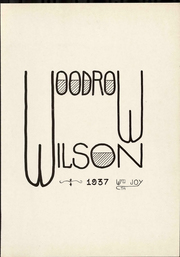 Page 7, 1937 Edition, Woodrow Wilson Intermediate School - Quill Yearbook (Detroit, MI) online yearbook collection