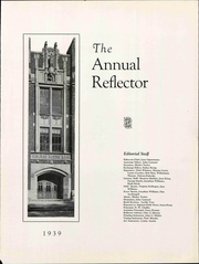 Page 7, 1939 Edition, Central Junior High School - Reflector Yearbook (Saginaw, MI) online yearbook collection