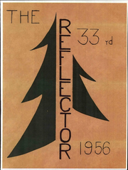 1956 Edition, Central Junior High School - Reflector Yearbook (Saginaw, MI)