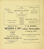 Page 4, 1899 Edition, Rutgers University - Scarlet Letter Yearbook (Newark, NJ) online yearbook collection