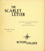 Page 6, 1899 Edition, Rutgers University - Scarlet Letter Yearbook (Newark, NJ) online yearbook collection
