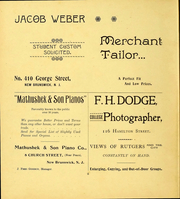 Page 4, 1900 Edition, Rutgers University - Scarlet Letter Yearbook (Newark, NJ) online yearbook collection