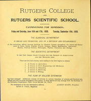 Page 6, 1900 Edition, Rutgers University - Scarlet Letter Yearbook (Newark, NJ) online yearbook collection