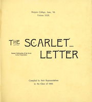 Page 7, 1900 Edition, Rutgers University - Scarlet Letter Yearbook (Newark, NJ) online yearbook collection