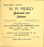 Page 7, 1905 Edition, Rutgers University - Scarlet Letter Yearbook (Newark, NJ) online yearbook collection