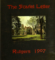 Page 1, 1907 Edition, Rutgers University - Scarlet Letter Yearbook (Newark, NJ) online yearbook collection
