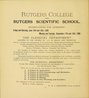 Page 6, 1907 Edition, Rutgers University - Scarlet Letter Yearbook (Newark, NJ) online yearbook collection