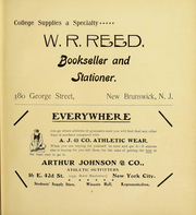 Page 7, 1907 Edition, Rutgers University - Scarlet Letter Yearbook (Newark, NJ) online yearbook collection