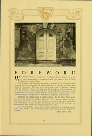Page 16, 1922 Edition, Rutgers University - Scarlet Letter Yearbook (Newark, NJ) online yearbook collection