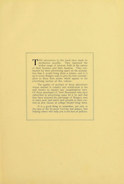 Page 6, 1922 Edition, Rutgers University - Scarlet Letter Yearbook (Newark, NJ) online yearbook collection