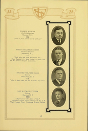 Page 67, 1922 Edition, Rutgers University - Scarlet Letter Yearbook (Newark, NJ) online yearbook collection