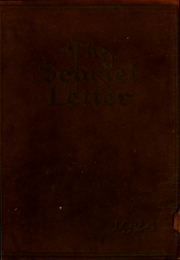 Rutgers University - Scarlet Letter Yearbook (Newark, NJ) online yearbook collection, 1924 Edition, Page 1