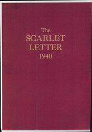Page 1, 1940 Edition, Rutgers University - Scarlet Letter Yearbook (Newark, NJ) online yearbook collection
