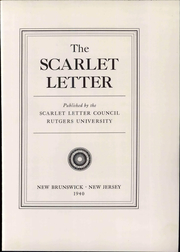 Page 11, 1940 Edition, Rutgers University - Scarlet Letter Yearbook (Newark, NJ) online yearbook collection