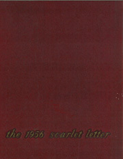 1956 Edition, Rutgers University - Scarlet Letter Yearbook (Newark, NJ)