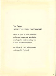 Page 13, 1965 Edition, Rutgers University - Scarlet Letter Yearbook (Newark, NJ) online yearbook collection