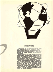 Page 15, 1965 Edition, Rutgers University - Scarlet Letter Yearbook (Newark, NJ) online yearbook collection