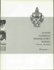 Page 7, 1960 Edition, Austin Catholic High School - Magistro Yearbook (Detroit, MI) online yearbook collection