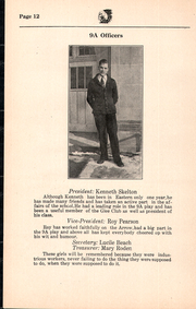Page 14, 1931 Edition, Eastern Junior High School - Arrow Yearbook (Pontiac, MI) online yearbook collection