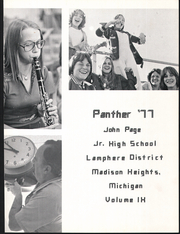Page 5, 1977 Edition, Page Middle School - Panther Yearbook (Madison Heights, MI) online yearbook collection