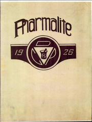 1926 Edition, Detroit College of Pharmacy - Pharmalite Yearbook (Detroit, MI)