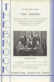 Page 7, 1938 Edition, Cranbrook School - Brook Yearbook (Bloomfield Hills, MI) online yearbook collection