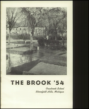 Page 5, 1954 Edition, Cranbrook School - Brook Yearbook (Bloomfield Hills, MI) online yearbook collection