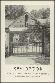 Page 5, 1956 Edition, Cranbrook School - Brook Yearbook (Bloomfield Hills, MI) online yearbook collection