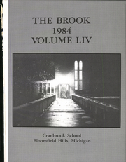 Page 5, 1984 Edition, Cranbrook School - Brook Yearbook (Bloomfield Hills, MI) online yearbook collection