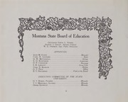 Page 14, 1910 Edition, Montana State University - Sentinel Yearbook (Missoula, MT) online yearbook collection