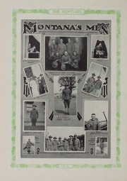 Page 11, 1919 Edition, Montana State University - Sentinel Yearbook (Missoula, MT) online yearbook collection