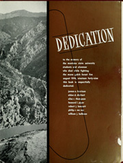 Page 9, 1950 Edition, Montana State University - Sentinel Yearbook (Missoula, MT) online yearbook collection
