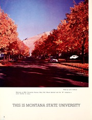 Page 6, 1961 Edition, Montana State University - Sentinel Yearbook (Missoula, MT) online yearbook collection
