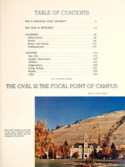 Page 7, 1961 Edition, Montana State University - Sentinel Yearbook (Missoula, MT) online yearbook collection