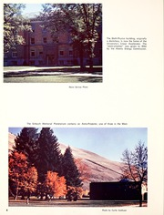 Page 8, 1961 Edition, Montana State University - Sentinel Yearbook (Missoula, MT) online yearbook collection