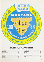 Page 7, 1964 Edition, Montana State University - Sentinel Yearbook (Missoula, MT) online yearbook collection