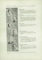 Page 16, 1933 Edition, Lee High School - Echo Yearbook (Grand Rapids, MI) online yearbook collection