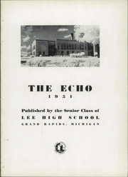 Page 5, 1951 Edition, Lee High School - Echo Yearbook (Grand Rapids, MI) online yearbook collection
