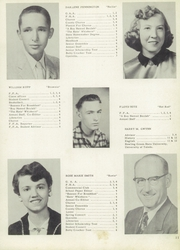 Page 15, 1957 Edition, Chesterfield Dover High School - Comet Yearbook (Morenci, MI) online yearbook collection