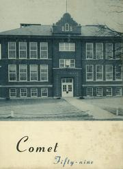 1959 Edition, Chesterfield Dover High School - Comet Yearbook (Morenci, MI)