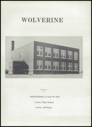 Page 5, 1958 Edition, Carney High School - Wolverine Yearbook (Carney, MI) online yearbook collection