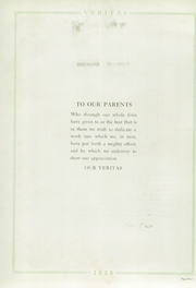Page 7, 1926 Edition, Marywood Academy - Veritas Yearbook (Grand Rapids, MI) online yearbook collection