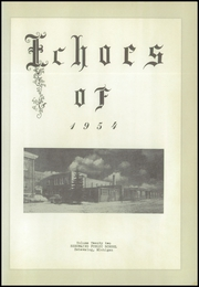 Page 5, 1954 Edition, Sebewaing High School - Echoes Yearbook (Sebewaing, MI) online yearbook collection