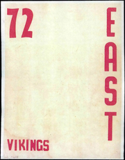 1972 Edition, East Junior High School - Viking Yearbook (Ypsilanti, MI)