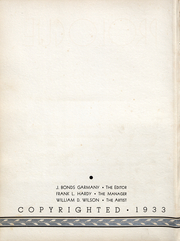 Page 3, 1933 Edition, Auburn University - Glomerata Yearbook (Auburn, AL) online yearbook collection